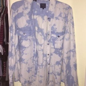 Guess Acid-wash Long Sleeve Shirt